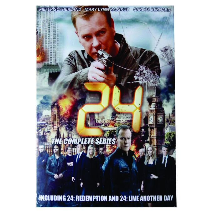 24: The Complete Series - 10 DVDs BOX SET